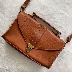 MADEWELL | Lovelock Minibag, English Saddle